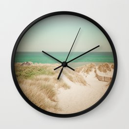 Beach dune miniature 4 Wall Clock