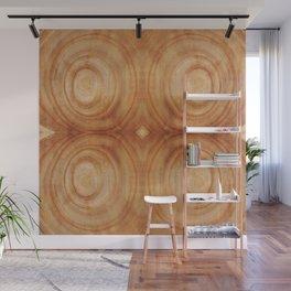 Tree Rings Wall Mural