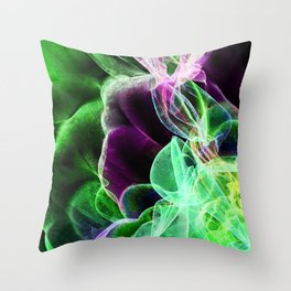 Wave 6 Throw Pillow