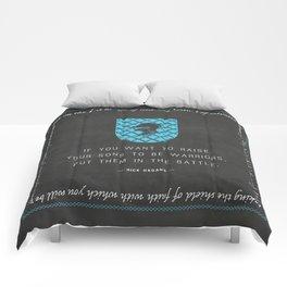 Warrior Sons — {Blue} Comforters