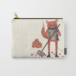 Ferdinand the Fall Fox Carry-All Pouch