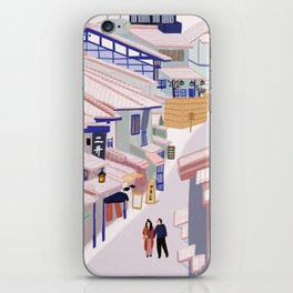 Old Town Kyoto iPhone Skin