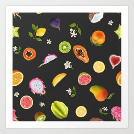 Tropical mix Art Print