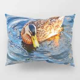 Swimming in Circles Pillow Sham