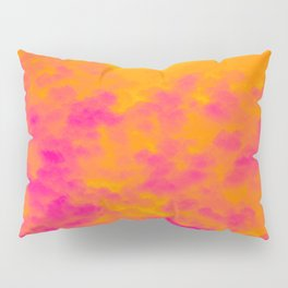 Rainstorm in a Rainforest During the Fall of the Sun Pillow Sham