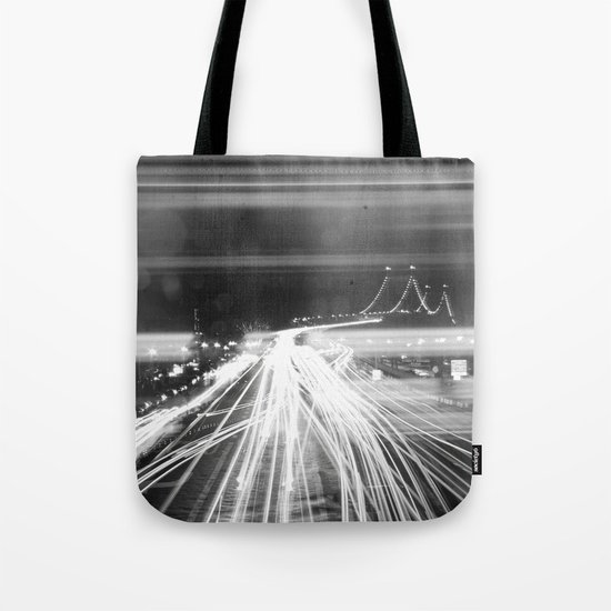 The Night Vibes Electric Tote Bag