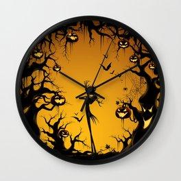 Nightmare HALLOWEEN jack Wall Clock