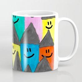 Happy faced houses Coffee Mug