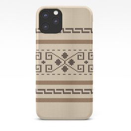 Dude Sweater iPhone Case