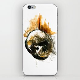 Little furet Sleepy Ferret iPhone Skin
