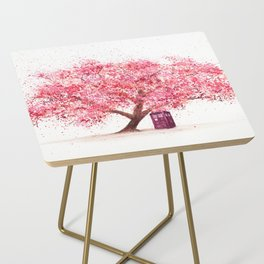 Tardis Tree Art Blossom Side Table