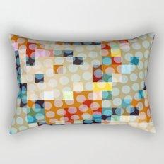 dots meet pixels Rectangular Pillow