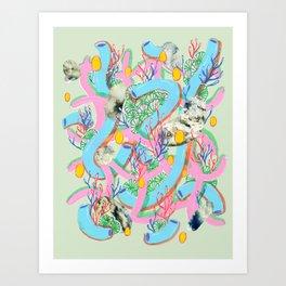 Alien Organism 7 Art Print