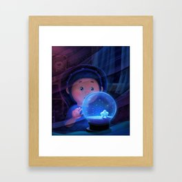 The precious one Framed Art Print