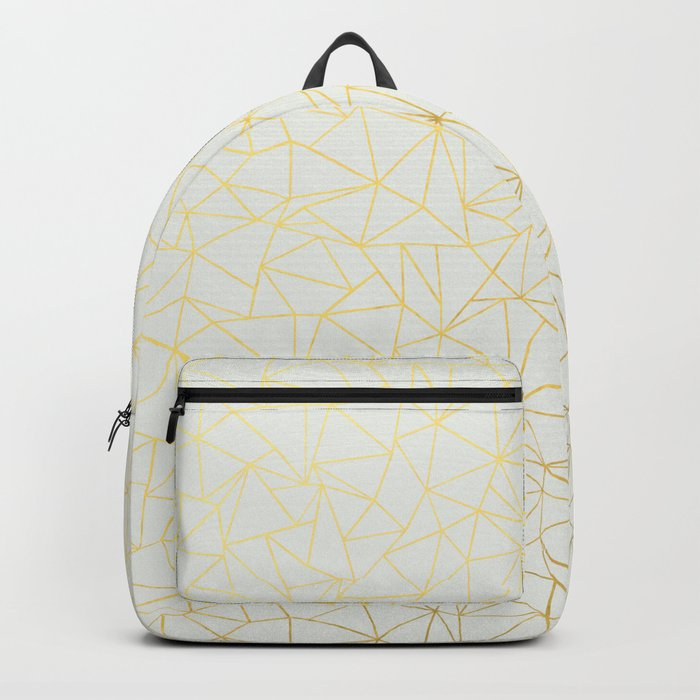 Geo Gold Backpack