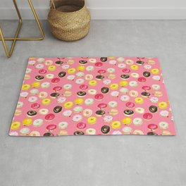 It's donut time - hot pink Rug