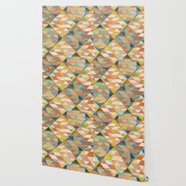 Triangles and Circles Pattern no.23 Wallpaper