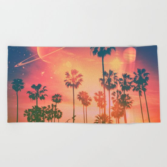 Summer Bound Beach Towel