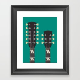 Guitar Heroes #6 - Jimmy Framed Art Print