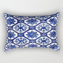 Portuguese Tile Rectangular Pillow