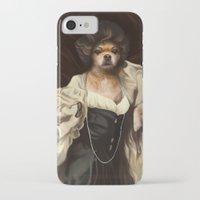 karu kara iPhone & iPod Cases featuring Ruffs and Collars - Kara by LiseRichardson