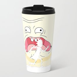 Rick, Morty, Mr. Poopy Butthole and Hakuna Matataaaaaaa! Travel Mug