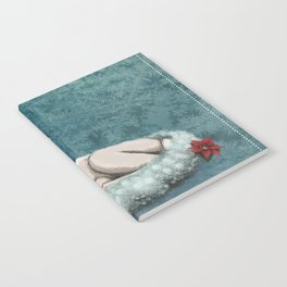 Baby Rudolph wishes you Happy Holidays Notebook
