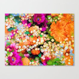 POP-Sparkles Canvas Print