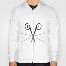 scissors cat Hoody