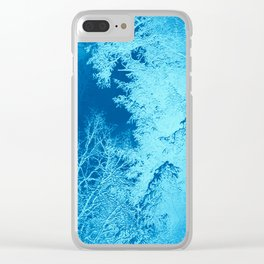 Icy Winter..... Clear iPhone Case