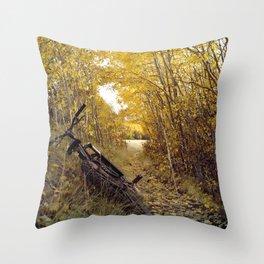 Beautiful pause Throw Pillow