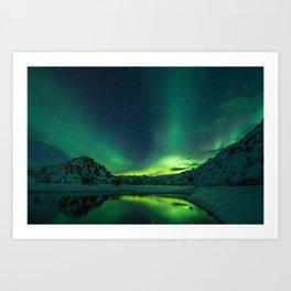 Aurora Borealis Art Print