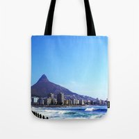 south africa Tote Bags featuring South Africa Impression 6 by Art-Motiva