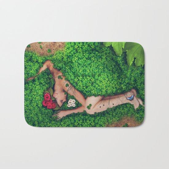 Born in Nature Bath Mat