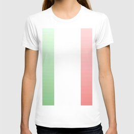 flag of Italy -with color Gradient T-shirt
