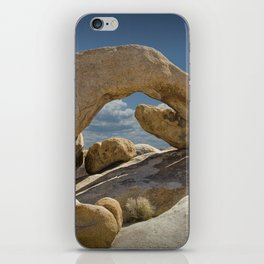 Rock Arch in the Joshua Tree National Park iPhone Skin