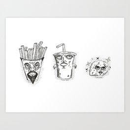 Adolescent Water Team Art Print