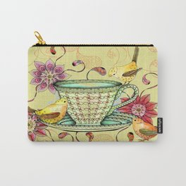 Afternoon Tea & Tweets Carry-All Pouch