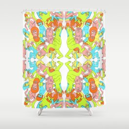 Partay Shower Curtain