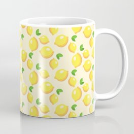 Lemon limon seamless art colour lines triangle look rest eyes color new artist fun mixed pattern swe Coffee Mug