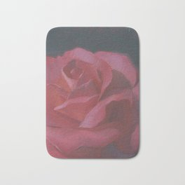 A Rosy Disposition Bath Mat