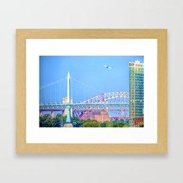 Bridges of New York Framed Art Print