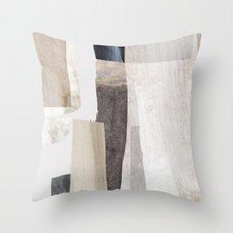 Clay Throw Pillow
