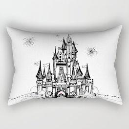 Mouse in Love Rectangular Pillow