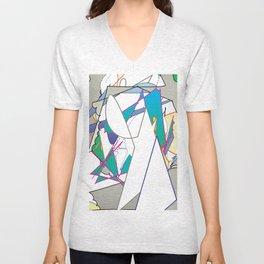 Color #8 Unisex V-Neck