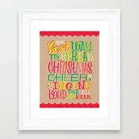 elf Framed Art Prints featuring Elf by Jillian Kaye