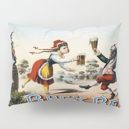 Vintage poster - Bock Beer Pillow Sham