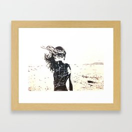 In The Wind Framed Art Print