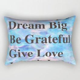 Give Love Rectangular Pillow