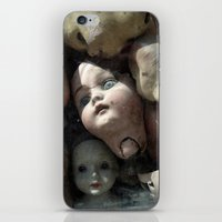 talking heads iPhone & iPod Skins featuring Heads by Stephen Maxwell